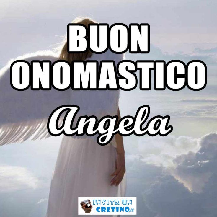 buon onomastico angela