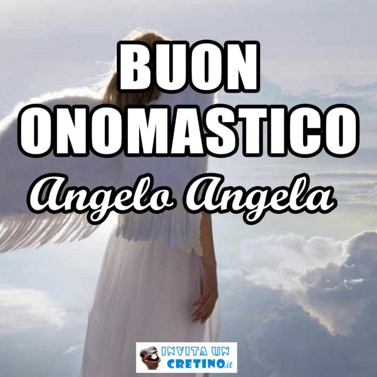 buon onomastico angelo angela