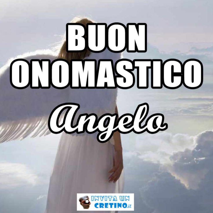 buon onomastico angelo