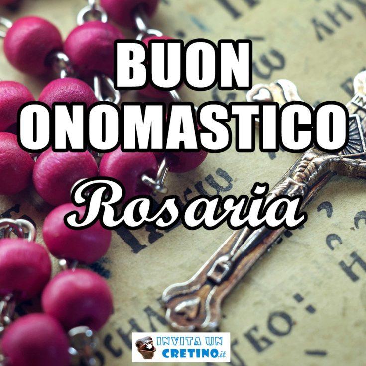 immagine auguri Rosaria