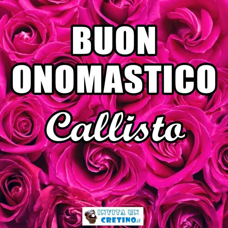 buon onomastico Callisto