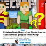 Vuole Minecraft per Natale, il nonno sbaglia e gli regala Mein Kampf