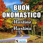 Buon Onomastico Martino Martina Immagini 11 novembre 2020