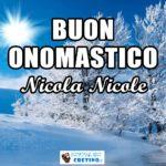 Buon Onomastico Nicola Nicole 6 dicembre 2020 Immagini gratis