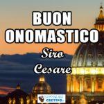 Buon Onomastico Cesare Siro 9 dicembre 2020 Immagini gratis