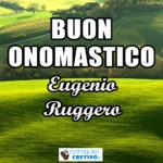 Buon Onomastico Eugenio Ruggero 30 dicembre 2020 Immagini gratis