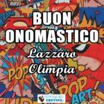 Buon Onomastico Lazzaro Olimpia 17 dicembre 2020 Immagini gratis