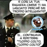Un carabiniere troppo colto - Foto divertenti