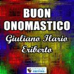Buon Onomastico Giuliano Ilario Eriberto 16 marzo Immagini