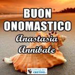 Buon Onomastico Anastasia Annibale 15 aprile Immagini gratis