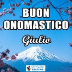 Buon Onomastico Giulio 12 aprile Immagini da scaricare