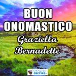 Buon Onomastico Graziella Bernadette 16 aprile Immagini gratis