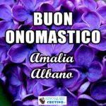 Buon Onomastico Amalia Albano 24 maggio Immagini gratis