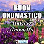 Buon Onomastico Antonio Antonella 13 giugno Immagini gratis