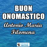 Buon Onomastico Antonio Maria Filomena Immagini 5 luglio