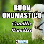 Buon Onomastico Camillo Camilla 14 luglio Immagini gratis