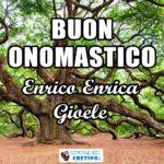 Buon Onomastico Enrico Enrica Gioele Immagini 13 luglio