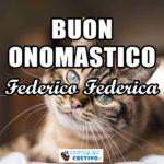 Buon Onomastico Federico Federica 18 luglio Immagini gratis