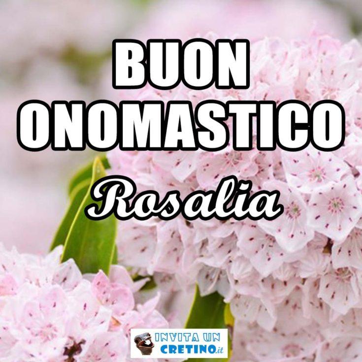 buon onomastico rosalia 4 settembre